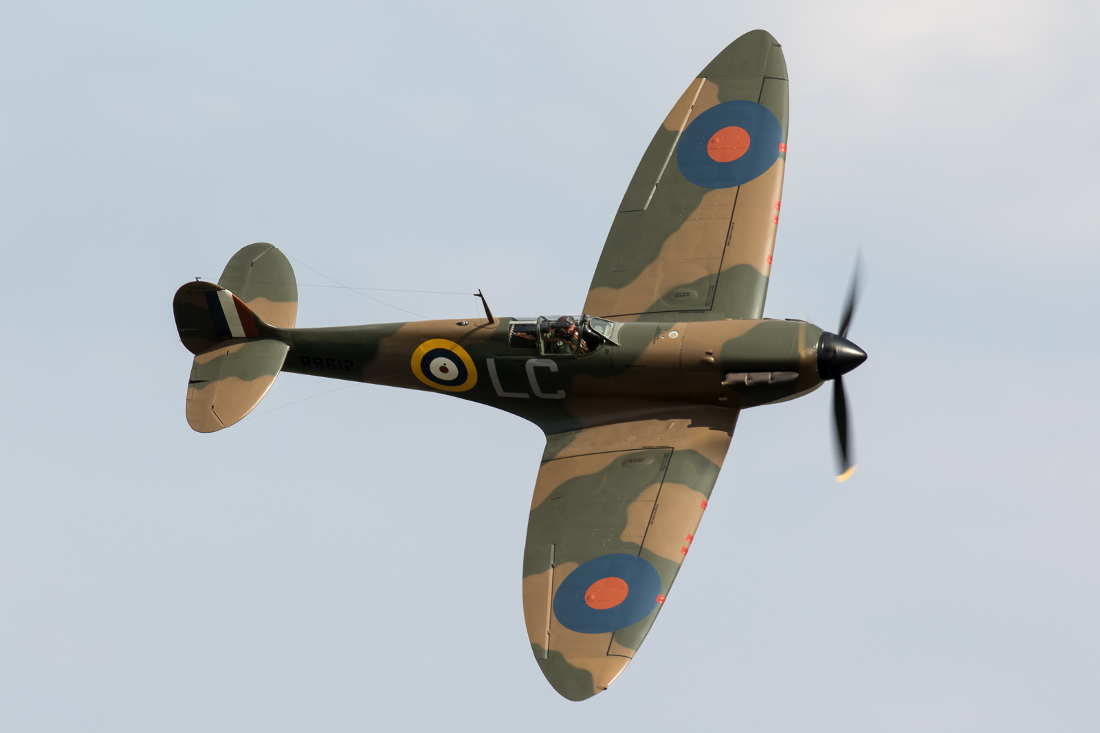 Consumer loyal to WWII royal aircraft: Spitfire in BMW
